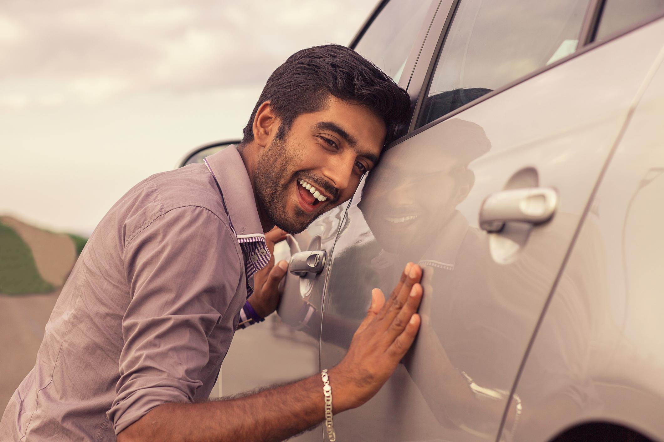 En ny bil kan fungera som en säkerhet